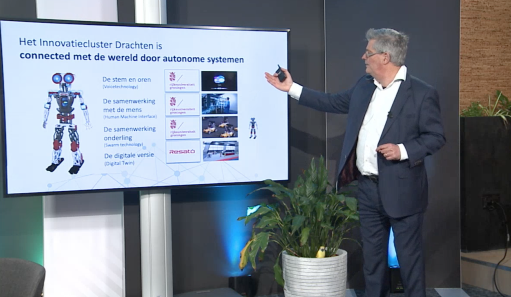 ICD is connectie met de wereld door autonome high-tech systemen